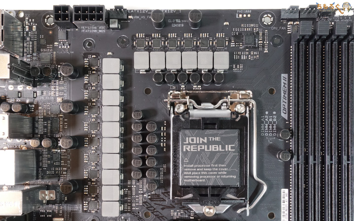 ASUS ROG STRIX Z490-E GAMINGをレビュー:VRMフェーズ電源を観察