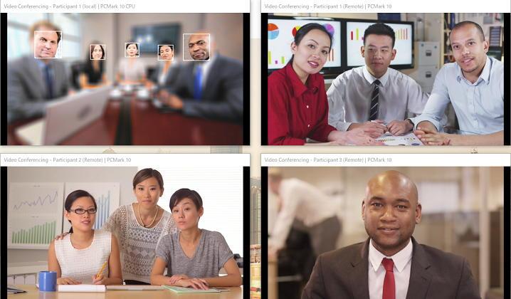 PCMark 10でビデオチャットの性能をテスト