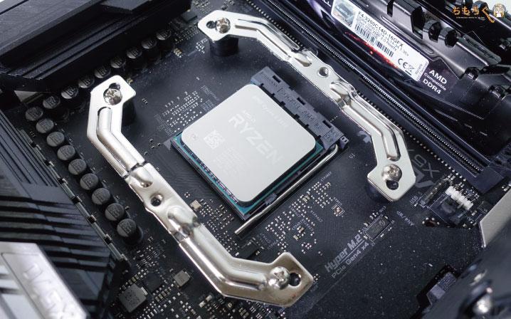 Ryzen 5 3500をレビュー:CPUパッケージ
