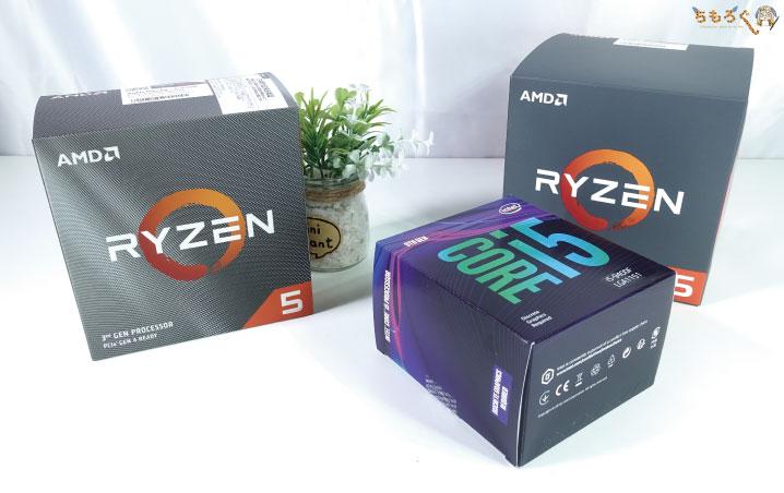 Ryzen 5 3500と比較するCPUは?