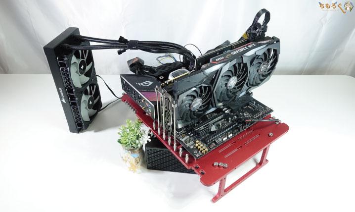 Core i7 10700Kのテスト環境