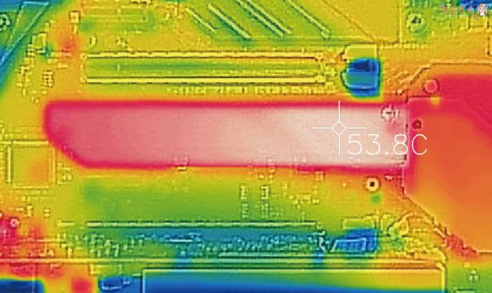 ASUS ROG STRIX Z490-E GAMINGのM.2ヒートシンクの冷却性能