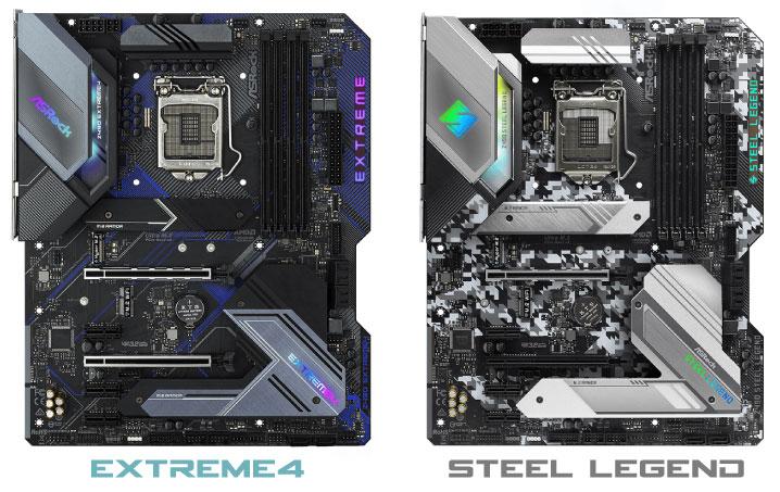 Z490 Extreme4とZ490 Steel Legendの違い