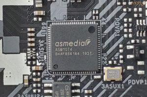 ASRock Z490 Steel Legendの基板コンポーネント