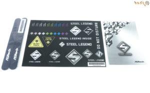 ASRock Z490 Steel Legendの付属品