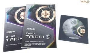 ASRock Z490 Taichiの付属品を紹介