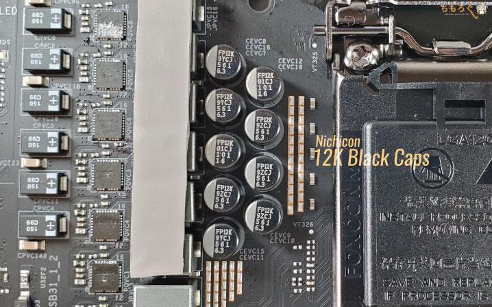 ASRock Z490 TaichiのVRMフェーズ回路をチェック