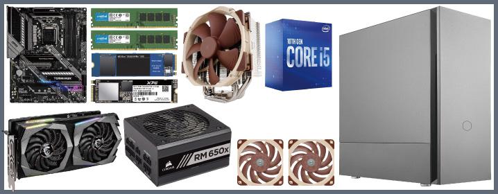 予算20万円:静音性に特化した自作PC