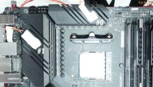 ASUS ROG STRIX B550-E GAMINGをレビュー:VRMフェーズの温度をチェック