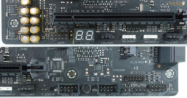 ASUS ROG STRIX B550-E GAMINGをレビュー:各種インターフェイス