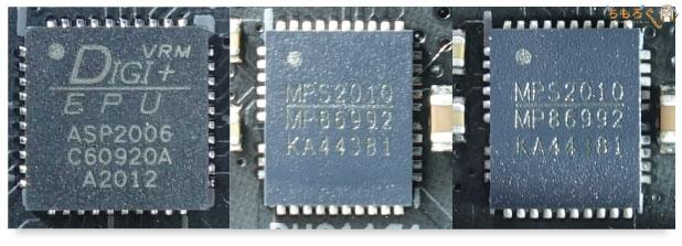 ASUS ROG STRIX B550-E GAMINGをレビュー:VRMフェーズをチェック