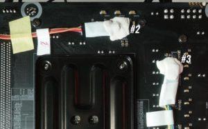 ASRock B550 Steel Legendをレビュー:VRMフェーズ回路の温度