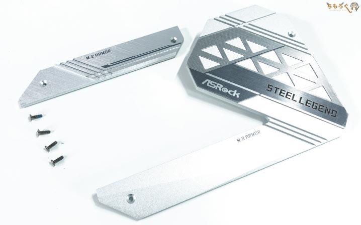 ASRock B550 Steel Legendをレビュー:外観と基板デザイン
