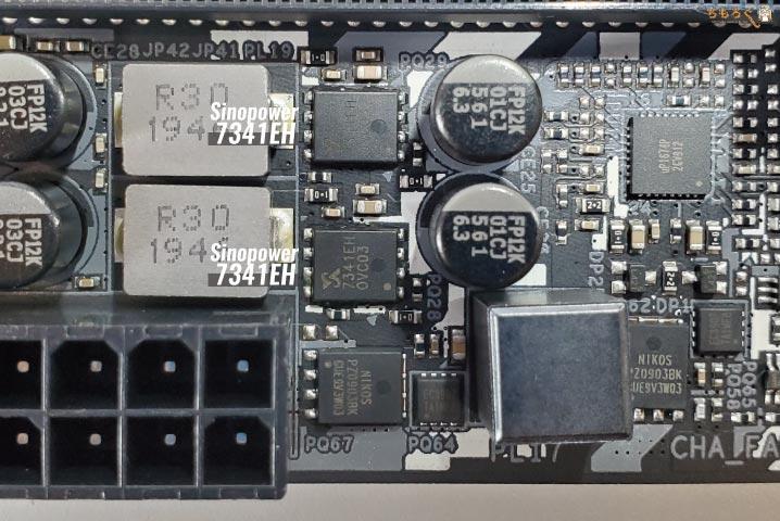 ASRock B550 Steel Legendをレビュー:VRMフェーズ電源回路を解説