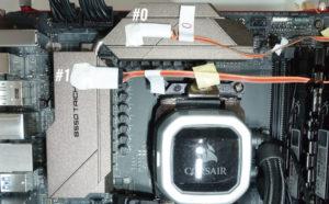 ASRock B550 Taichiをレビュー:VRMフェーズ回路の温度