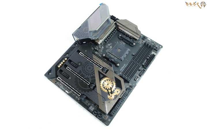 ASRock B550 Taichiをレビュー:開封、付属品