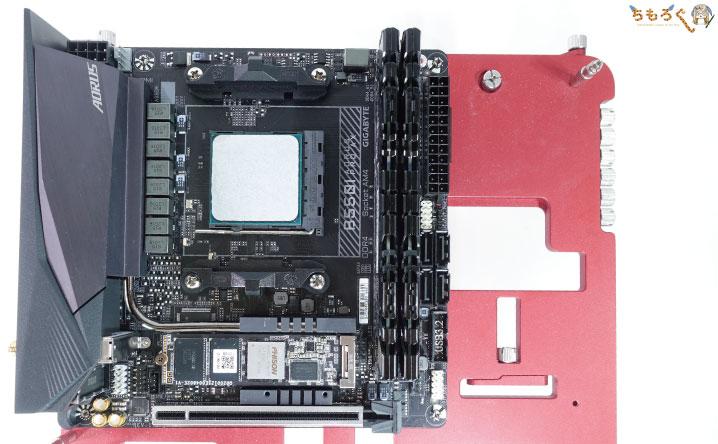 Gigabyte B550I AORUS PRO AXをレビュー:テスト環境
