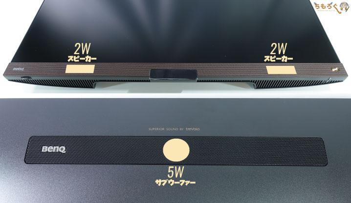 BenQ EW3280Uをレビュー(内蔵スピーカーの音質)