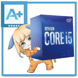 Core i5 10400Fの評価まとめ(A+ランク)