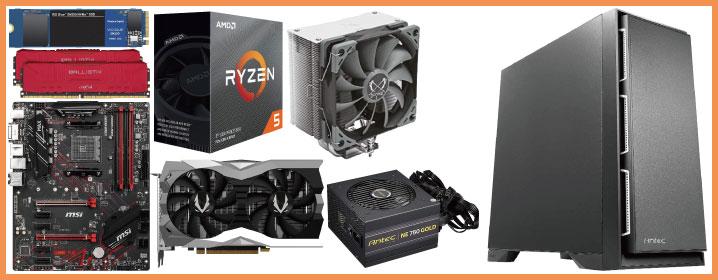 予算15万円:多用途に対応するRyzen自作PC