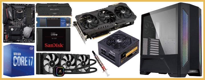 予算30万円:240 Hz以上を目指すゲーミング自作PC