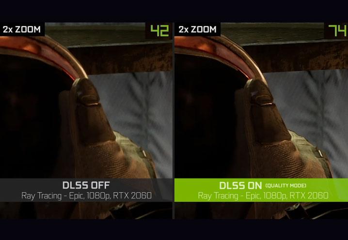NVIDIA DLSS 2.0の効果