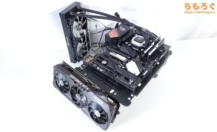 RTX 3080をベンチマークするPCスペック