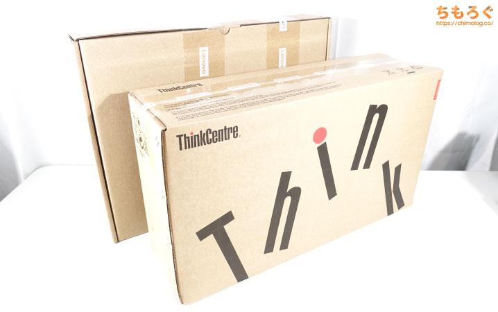 ThinkCentre M75q-1 Tinyを徹底解説レビュー(開封・付属品をチェック)