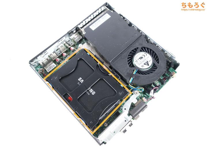 ThinkCentre M75q-1 Tinyを徹底解説レビュー(SSDを増設する方法)
