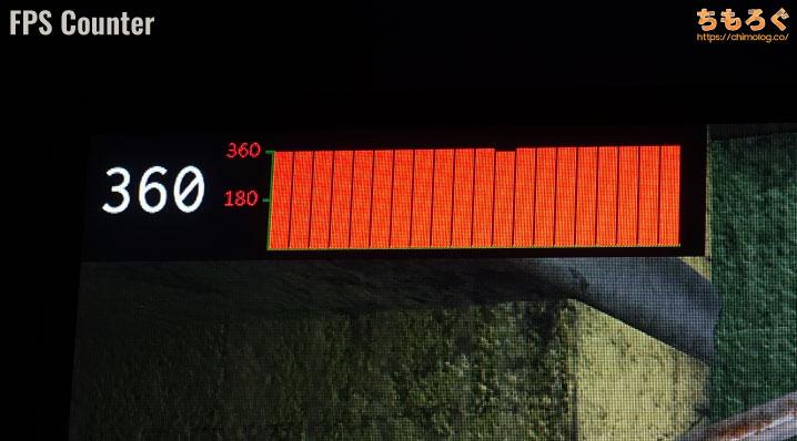 ASUS ROG Swift 360Hz PG259QNUをレビュー(画面上にUIを表示可能)