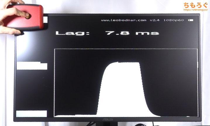 ASUS VG258QRをレビュー(入力遅延)