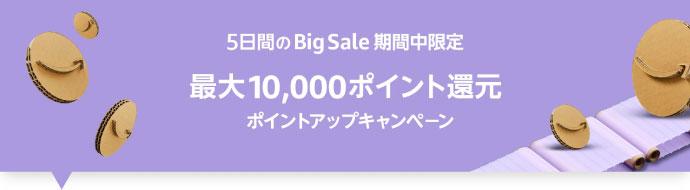 【5日間限定】最大10000ポイント還元