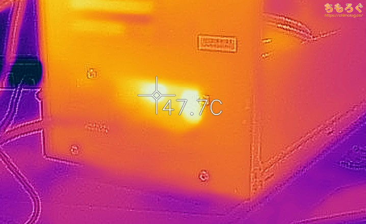 GALLERIA(ガレリアRシリーズ)を徹底解説レビュー(サーモグラフィーで表面温度をチェック)
