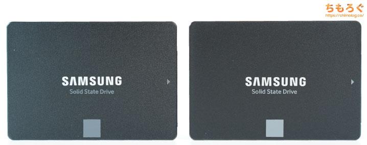 Samsung 870 EVOをレビュー(外観デザイン)