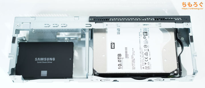 ThinkCentre M75s Small Gen2を徹底解説レビュー(HDDを増設する方法)