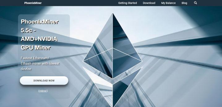 PhoenixMiner公式サイト