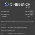 IdeaPad Slim 550 14(CPU性能をベンチマーク)