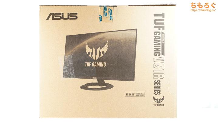 ASUS VG249Q1Rをレビュー(開封)