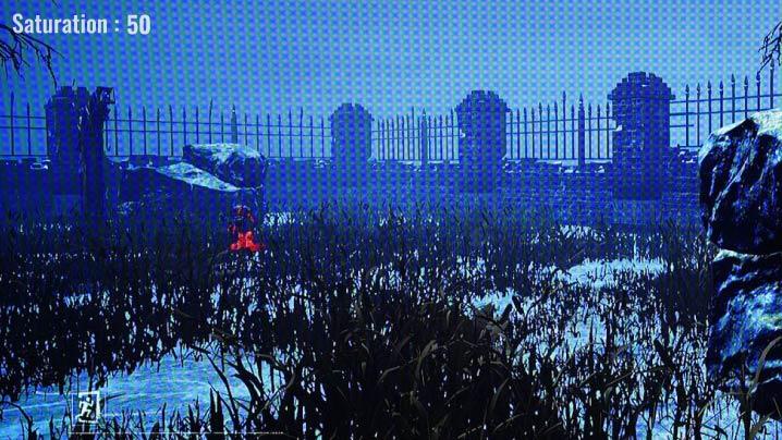 ASUS VG259QRをレビュー(彩度調整:Saturationの効果)