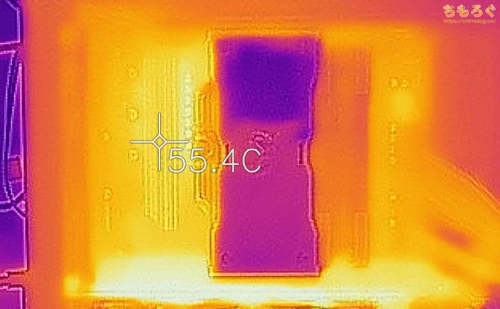 GALLERIA(ガレリアXシリーズ)を徹底解説レビュー(サーモグラフィーで表面温度をチェック)