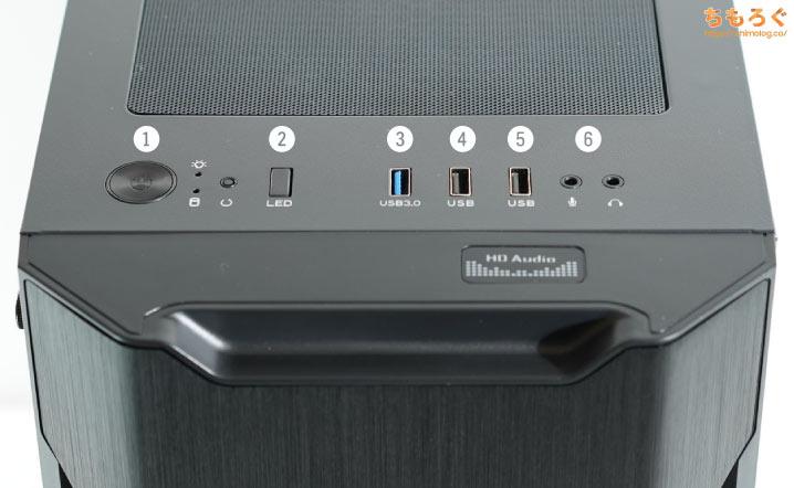 マイニングベース(Astromeda)を徹底解説レビュー(USBポート・インターフェイスをチェック)