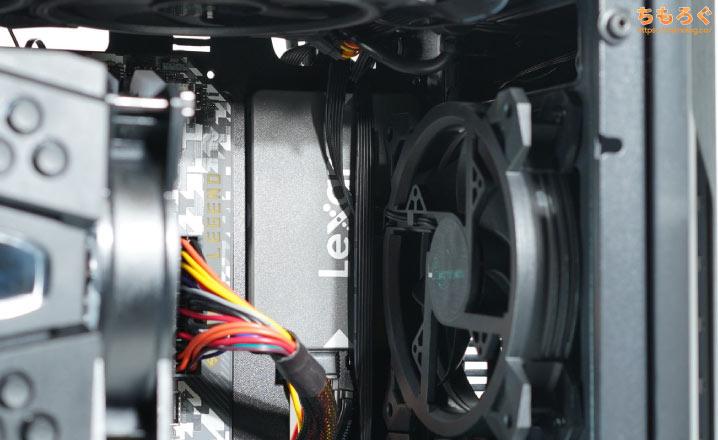 マイニングベース(Astromeda)を徹底解説レビュー(搭載されているSATA SSD)