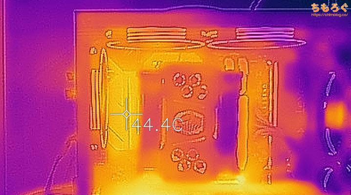 マイニングベース(Astromeda)を徹底解説レビュー(サーモグラフィーで表面温度をチェック)