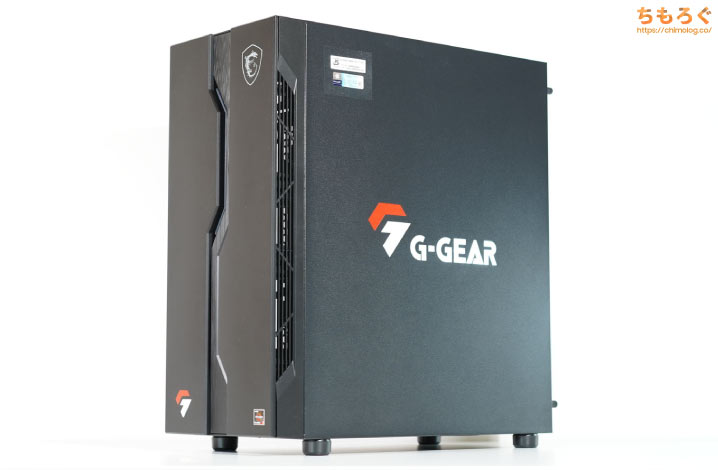 G-GEAR powered by MSI シリーズを徹底解説レビュー(外観・デザイン)