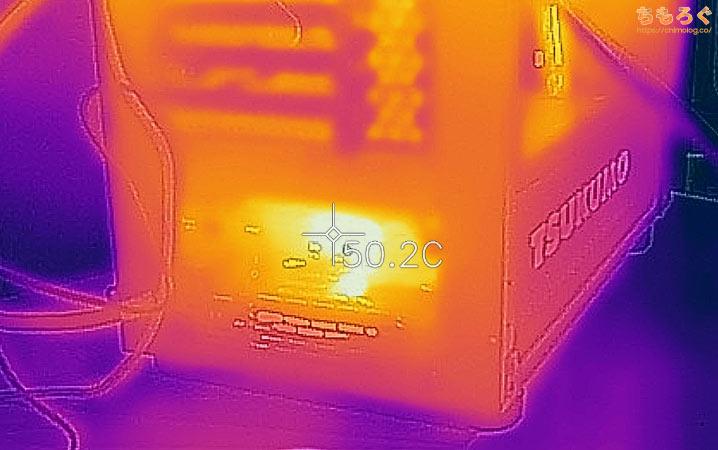 G-GEAR powered by MSI シリーズを徹底解説レビュー(サーモグラフィーで表面温度をチェック)