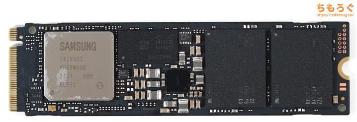 Samsung 970 EVO Plusをレビュー(基板コンポーネント)